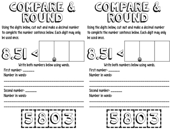 Math Interactive Notes {Readiness Standards} FREEBIE