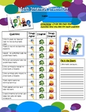 Math Interest Inventory - Inside Out Theme