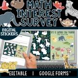 Math Interest and Attitudes   Digital Sticker Survey   Edi