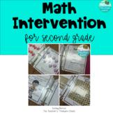 Math Intervention Binder for Second Grade
