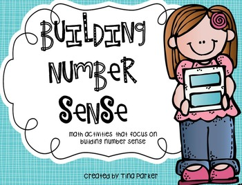 Math Intervention- Building Number Sense K/1 (with Lesson Plans)