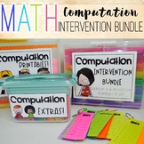 Math Intervention Bundle - Computation 0-20