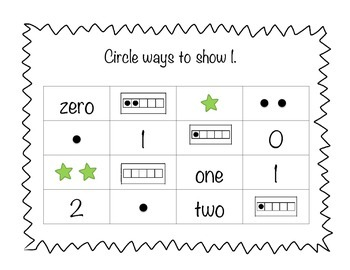Math Intervention: Counting and Cardinality (Number Sense)