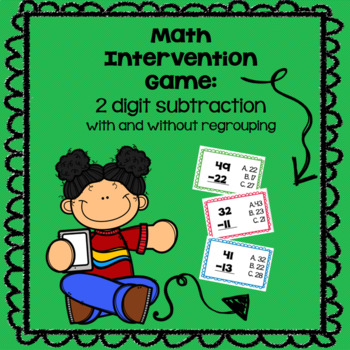 2 digit subtraction with & without regrouping