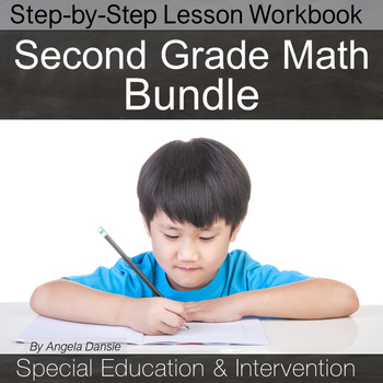 Math Intervention Bundle Vol. 2  {Second and Third Grade, Special Ed}
