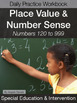 Special Education Math Lesson BUNDLE, Second and Third Grade