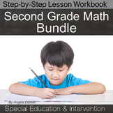 Second Grade Math Bundle for Special Education and Intervention