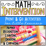 Math Intervention NO PREP