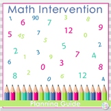 Math Intervention Planning Pages