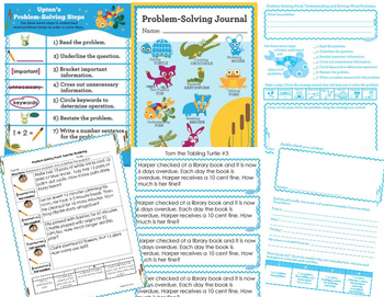 Math Intervention Problem Solving Strategies Site License