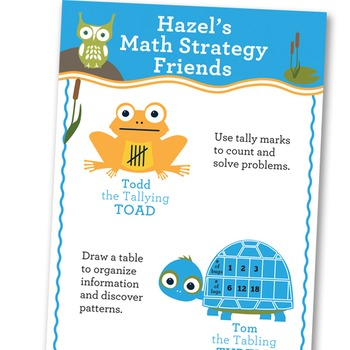 Math Intervention Strategy Book and Banner Set