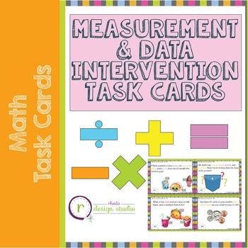 NWEA MAP Prep Math Practice Task Cards Measurement & Data RIT Band 181-190