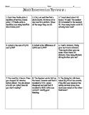 Math Intervention and Review Sheet