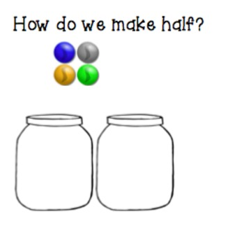 Math Introducing Half Interactive Presentation