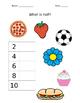Math Introducing Half Worksheet