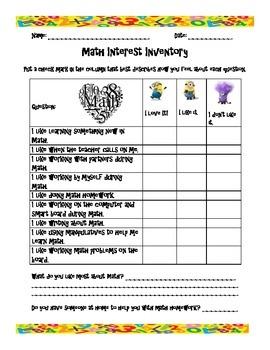 Math Inventory