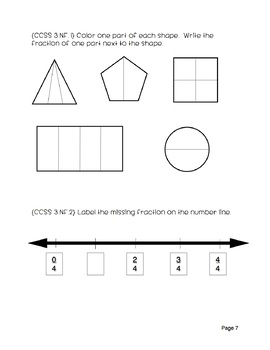 4th Grade Math Inventory Test {CCSS aligned}