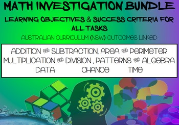 Math Investigation Bundle