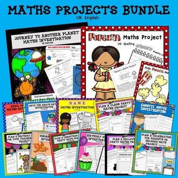 Maths Project Bundle AUS UK