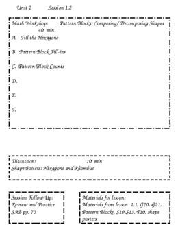 Math Investigations 3 Unit 2 Editable Lesson Plans