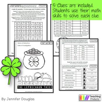 St Patricks Day Math Activity Pack