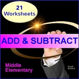 Math Investigations for Grade 3 - Addition & Subtraction Worksheets
