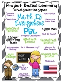 Math Is Everywhere PBL (5 Student Job Packets, 25 Lesson Plans)
