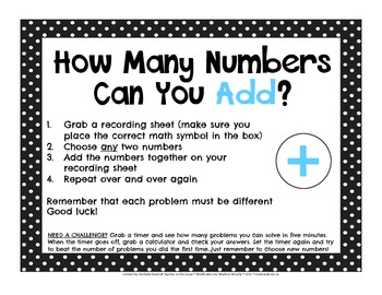 Math It Up (Based upon Add It Up)