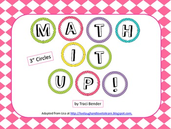 Math It Up Board Display