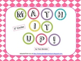Math It Up Board Display