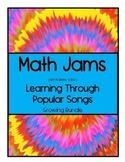 Math Jams & Morning Songs - Learning Through Popular Songs BUNDLE