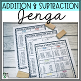 Math Jenga: Addition & Subtraction