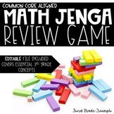 Math Jenga - 3rd Grade