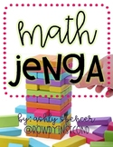 Math Jenga - Addition & Subtraction