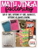 Math Jenga: Factoring