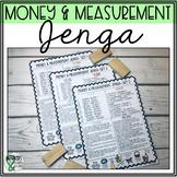Math Jenga: Money & Measurement