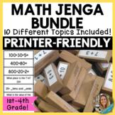 Math Jenga Bundle!