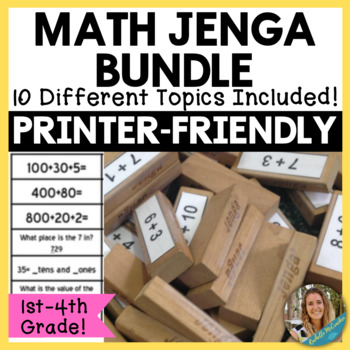 Math Jenga! The Ultimate Growing Bundle