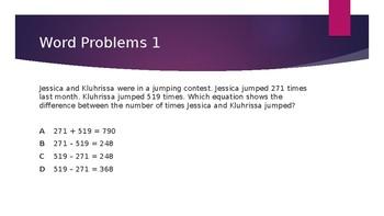 Math Jeopardy 3rd Grade- Texas TEKS