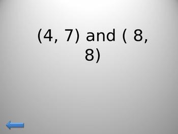 Math Jeopardy Game
