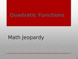 Math Game - Quadratics