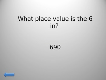 Math Jeopardy!- Place Value, Addition, Subtraction