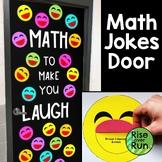 Math Jokes Door Decoration or Bulletin Board