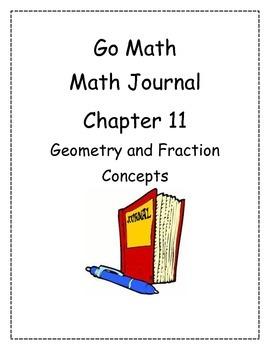 Go Math! Math Journal Activities for Grade 2, Chapter 11