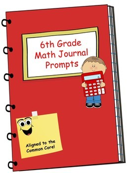 Math Journal Bundle - 1st, 2nd, 3rd, 4th, 5th, and 6th Grade