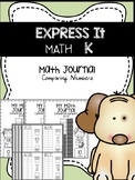 EXPRESS IT Math Journal {Comparing Numbers}