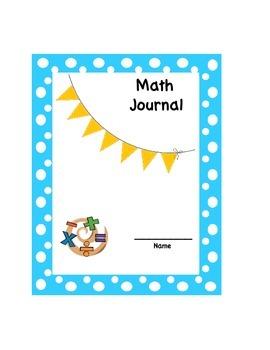 Math Journal Cover