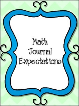 Math Journal Cover Freebie
