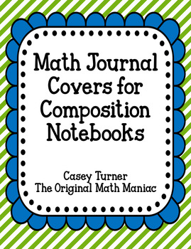 image regarding Journal Cover Printable referred to as Math Magazine Address Worksheets Training Materials TpT
