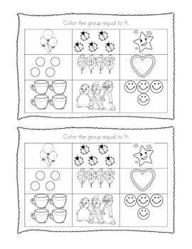 Kindergarten Math Journal Prompts